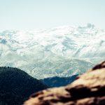 Views of Mount Toubkal