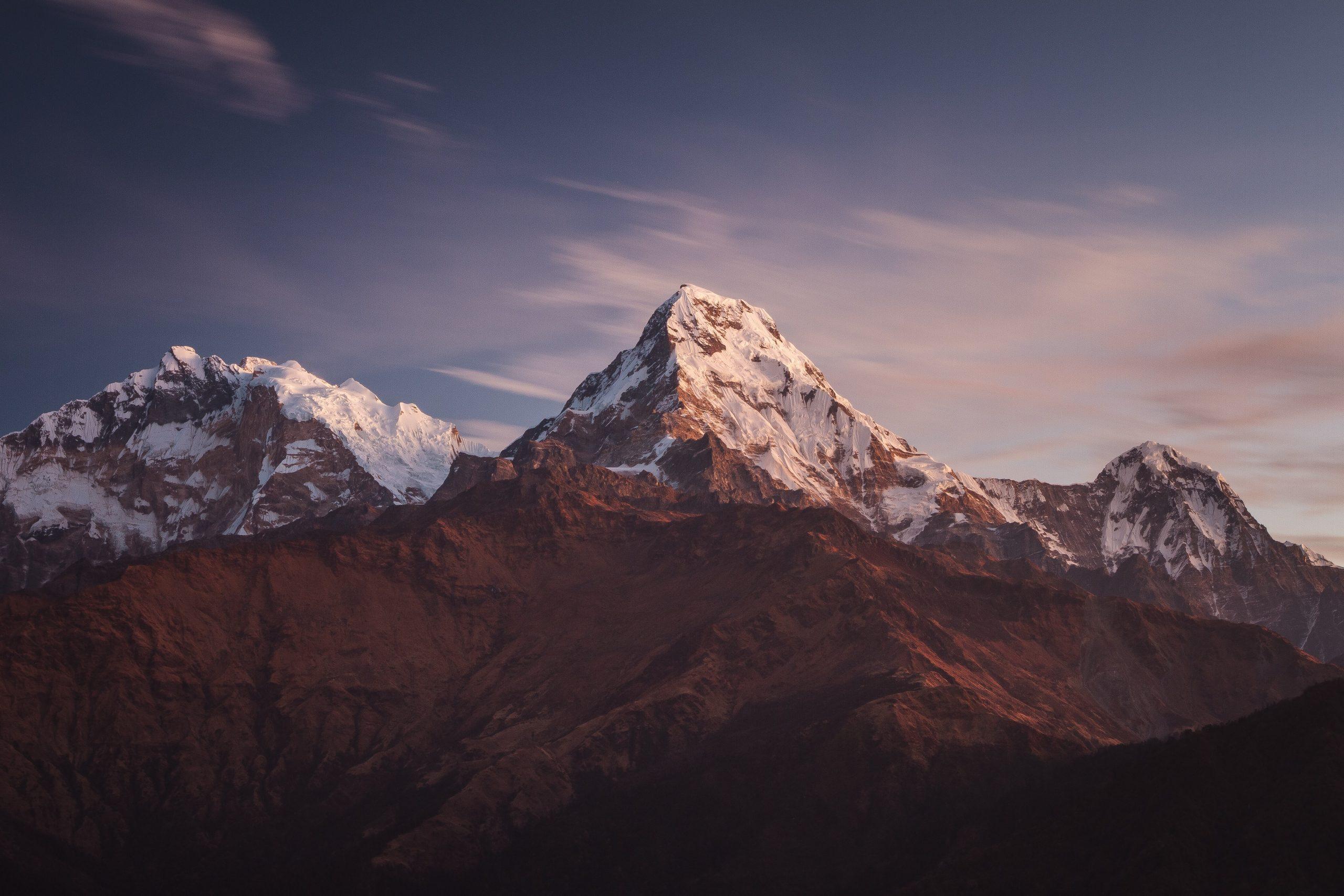 Views over Annapurna Mountain